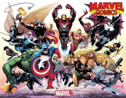 Marvel Comics #1001 (Gleason Wraparound Cover)