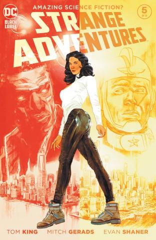 Strange Adventures #5 (Mitch Gerads Cover)