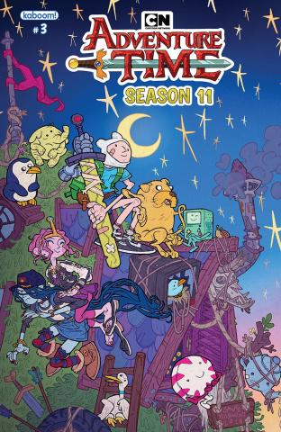 Adventure Time, Season 11 #3 (10 Copy Darmini Cover)