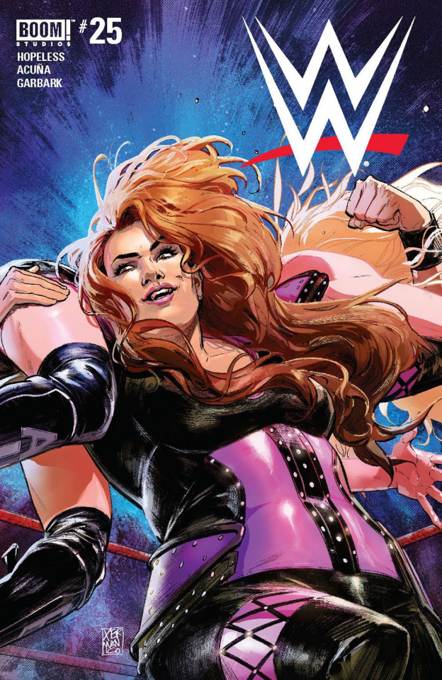 WWE #25 (25 Copy D'Alfonso Cover)