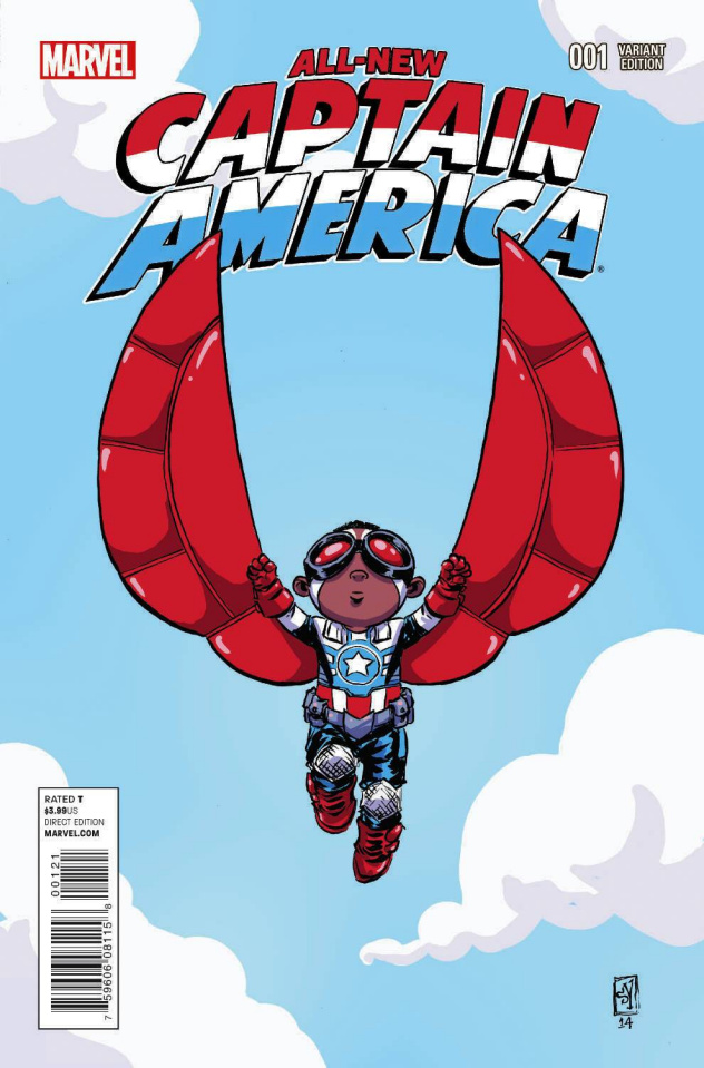 All-New Captain America #1 (Young Cover)