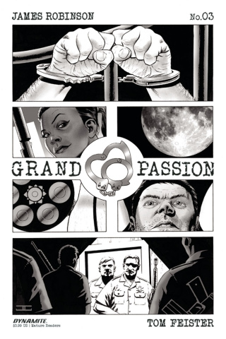 Grand Passion #3 (10 Copy B&W Cover)