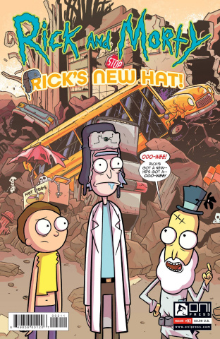 Rick and Morty: Rick's New Hat! #2 (Stresing Cover)
