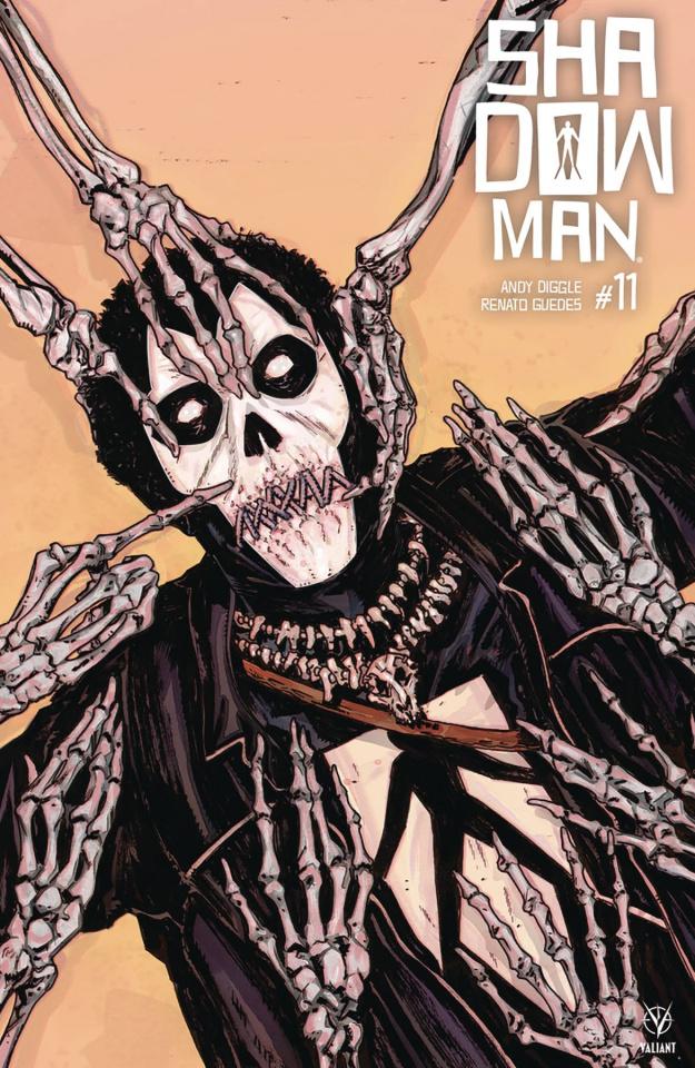 Shadowman #11 (Bivens Cover)