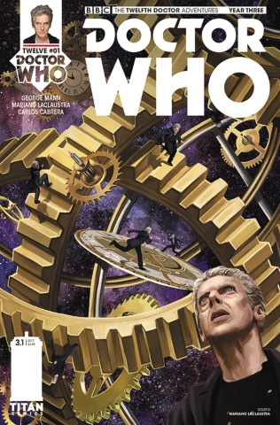 Doctor Who: New Adventures with the Twelfth Doctor, Year Three #1 (Laclaustra Cover)