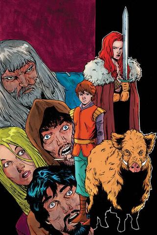 Killing Red Sonja #5 (Peeples Homage Virgin Cover)