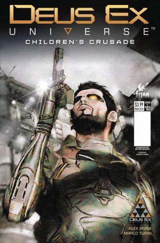Deus Ex #3 (Turini Cover)