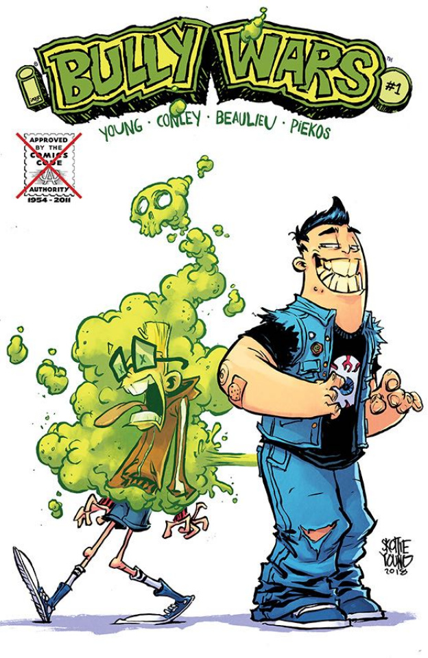 Bully Wars #1 (CBLDF Charity Uncensored Cover)