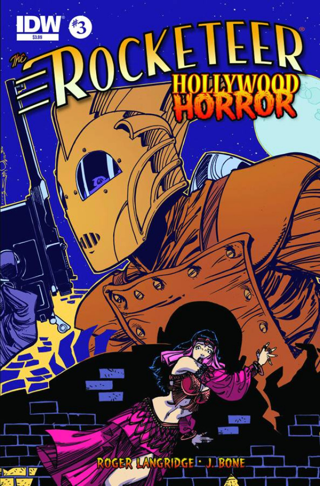 The Rocketeer: Hollywood Horror #3