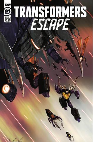 Transformers: Escape #5 (Ramondelli Cover)