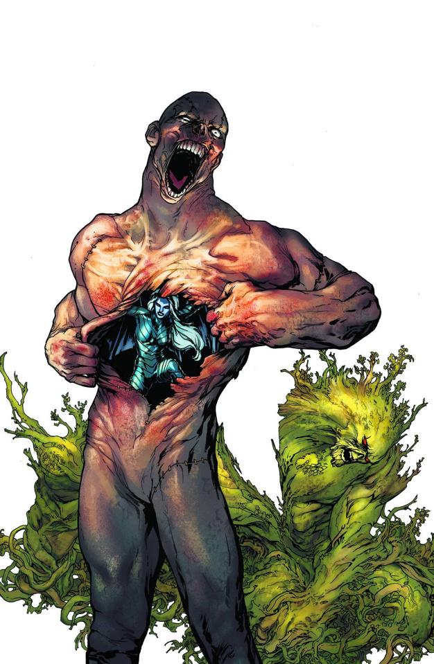 Swamp Thing #23.1: Arcane