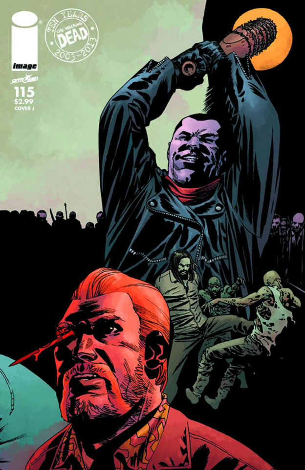 The Walking Dead #115 (Cover J)