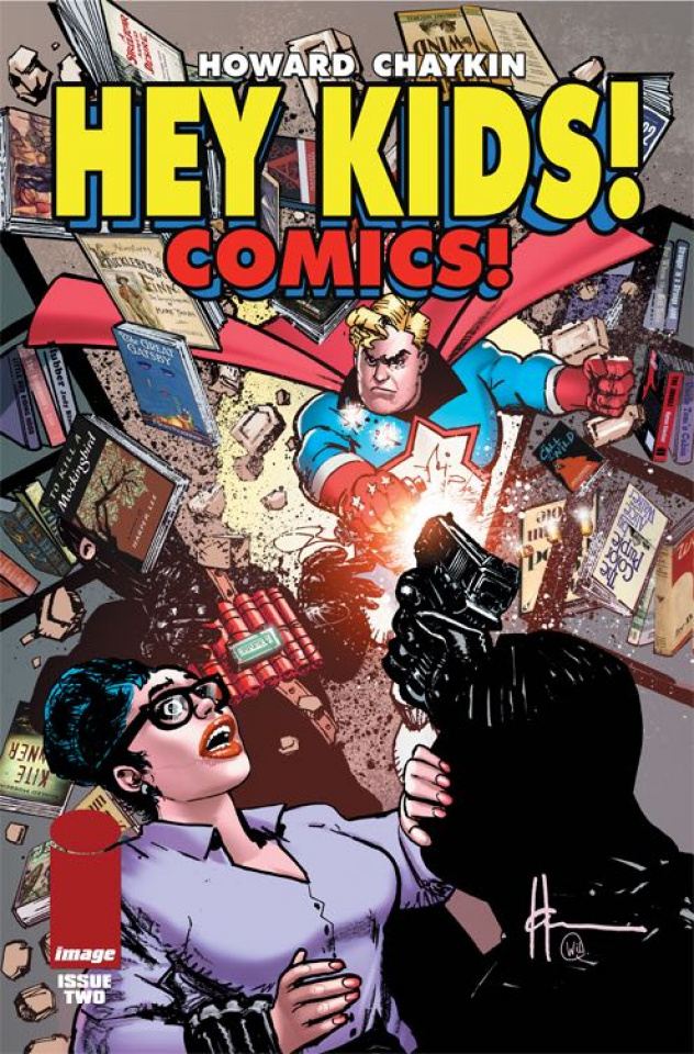 Hey Kids! Comics! #2 (CBLDF Charity Uncensored Cover)