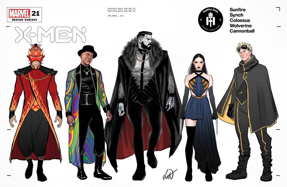 X-Men #21 (Werneck Character Design Cover)
