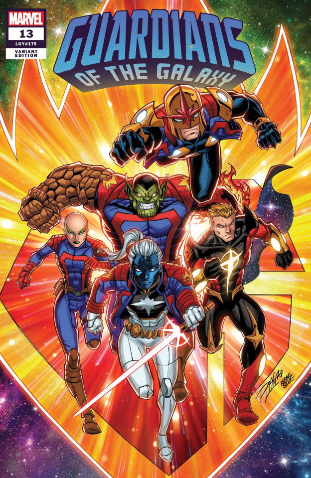 Guardians of the Galaxy #13 (Ron Lim Cover)