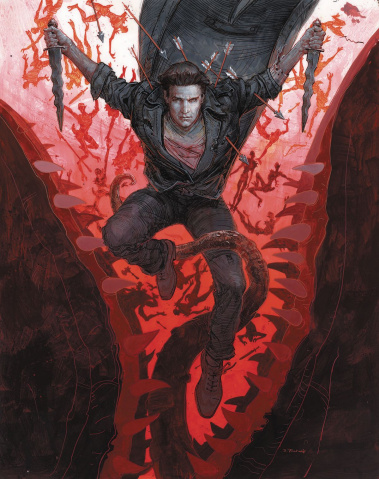 Angel, Season 11 #3 (Fischer Cover)