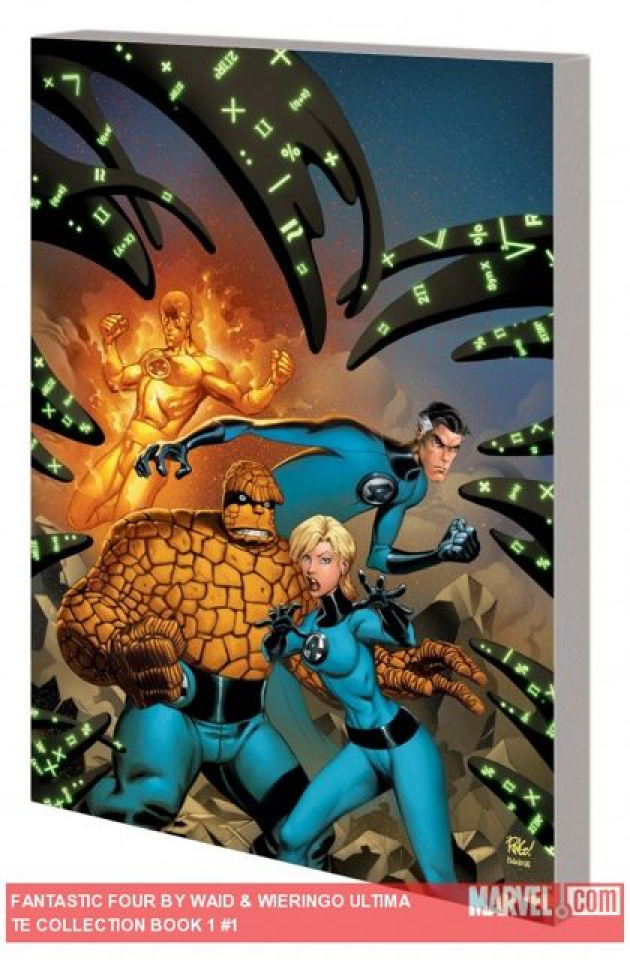 Fantastic Four by Waid & Wieringo Book 1