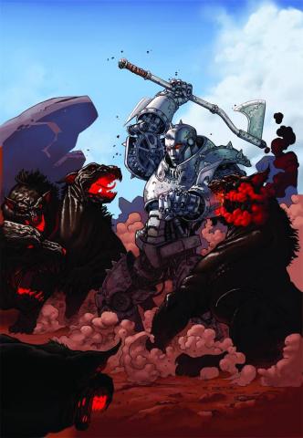 Grimm Fairy Tales: Oz #3 (Ortiz Cover)