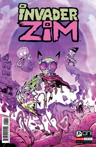Invader Zim #26 (Troussellier Cover)