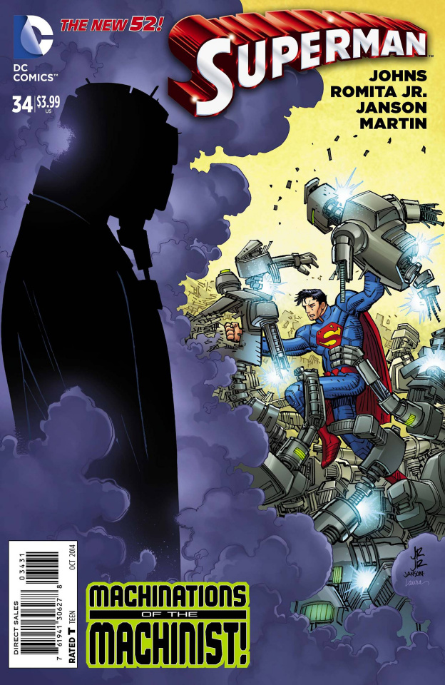 Superman #34 (Variant Cover)