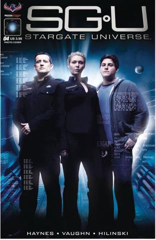Stargate Universe: Back to Destiny #4 (Photo Cover)