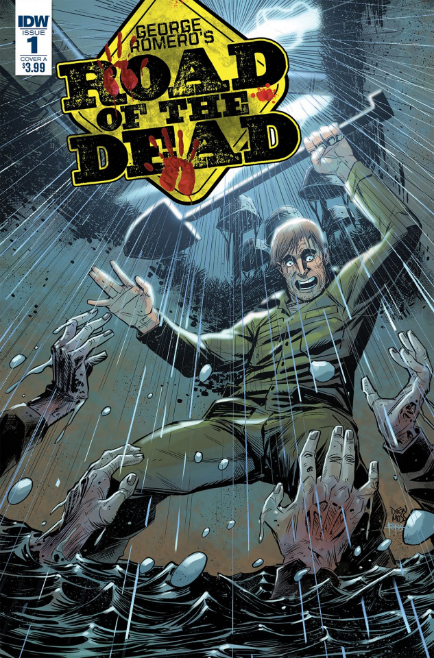 Road of the Dead: Highway to Hell #1 (Santiperez Cover)