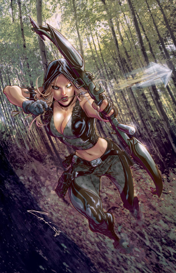 Grimm Fairy Tales: Robyn Hood - The Legend #2 (Laiso Cover)
