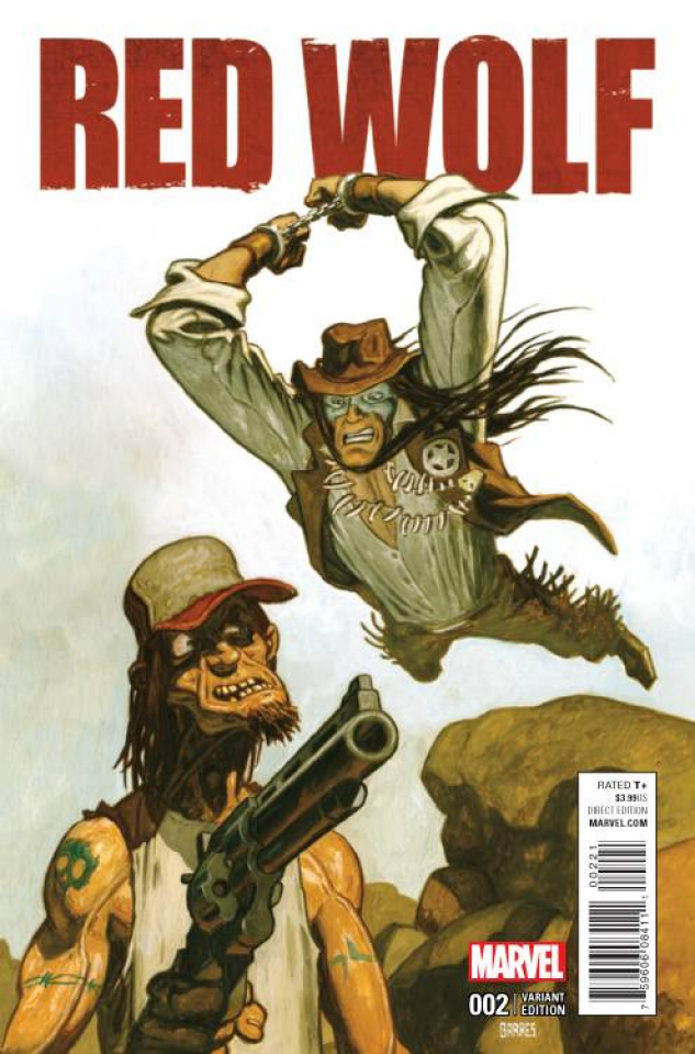 Red Wolf #2 (Garres Cover)