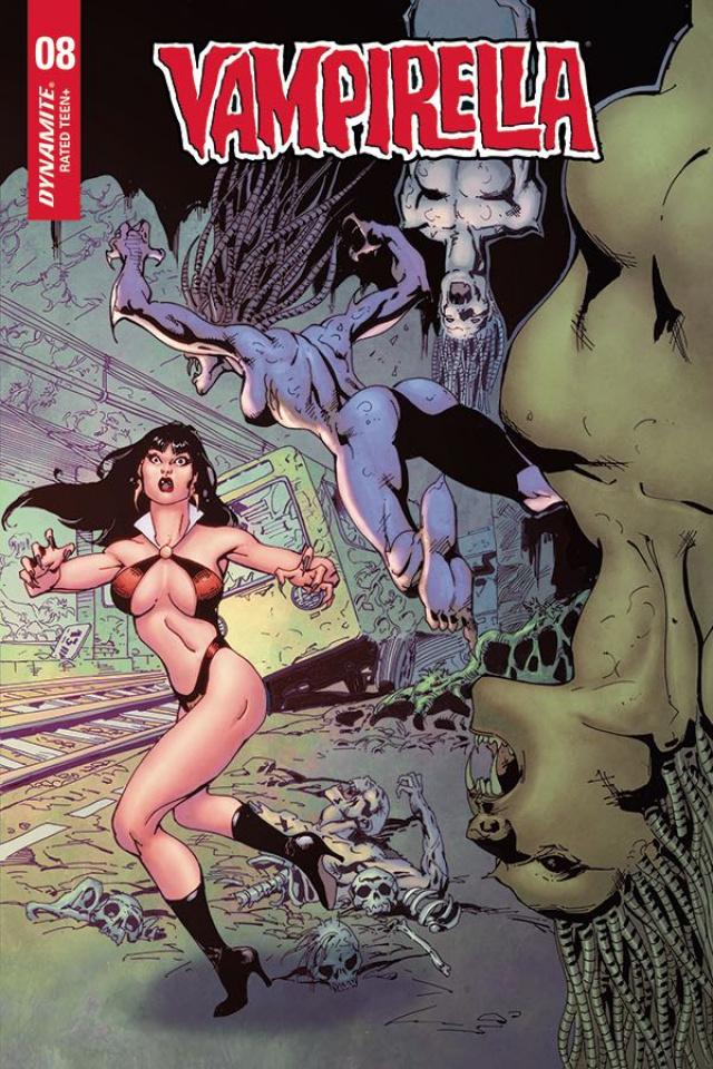 Vampirella #8 (Castro Bonus Cover)