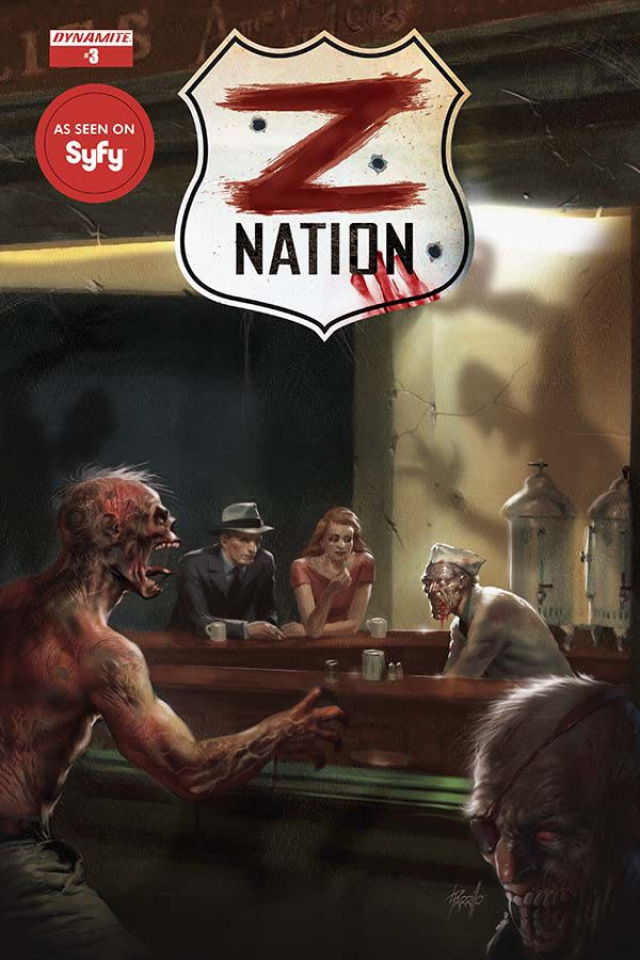 Z Nation #3 (Parrillo Cover)