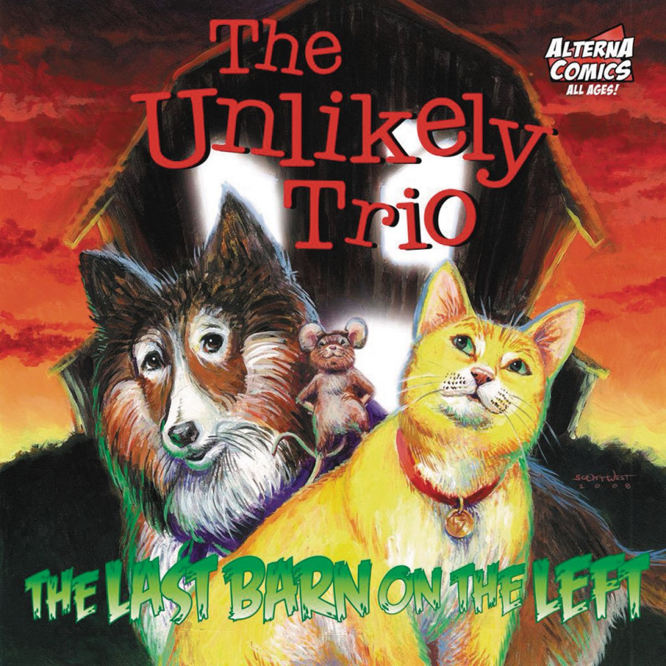 The Unlikely Trio Coloring Book