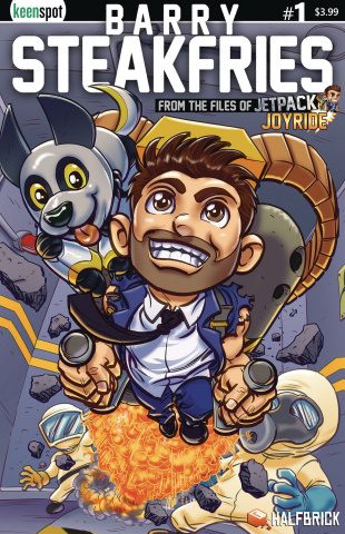 Barry Steakfries #1 (Blankenship Cover)