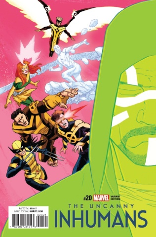 The Uncanny Inhumans #20 (Shalvey and Bellaire IvX Cover)
