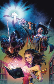 Grimm Fairy Tales #13 (Chen Cover)