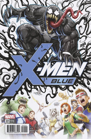 X-Men: Blue #22 (Nakayama Poison X Cover)