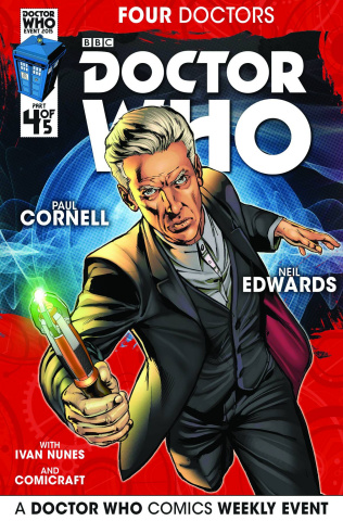 Doctor Who: Four Doctors #4 (Edwards Cover)