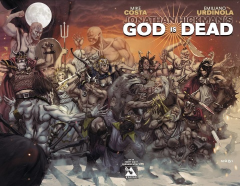 God Is Dead #48 (Connecting Wrap Cover B)