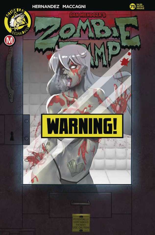 Zombie Tramp #75 (Mastajwood Risque Cover)