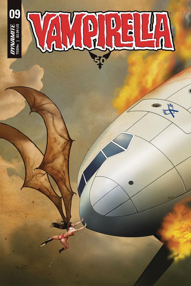Vampirella #9 (Gunduz Cover)