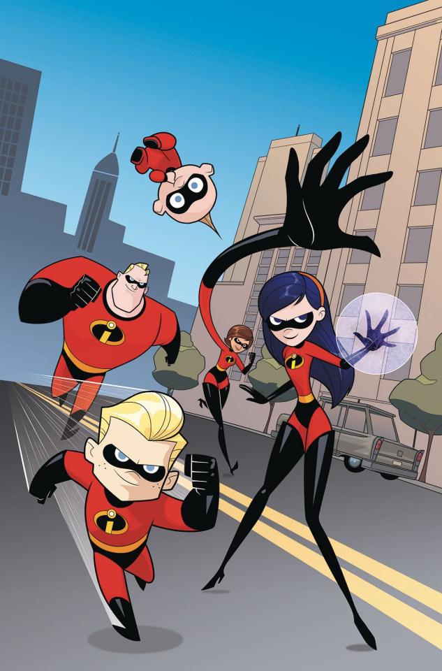 Incredibles 2: Secret Identities #3 (Kawaii Cover)