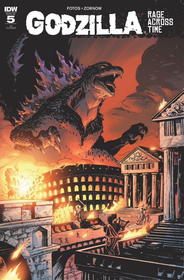 Godzilla: Rage Across Time #5 (10 Copy Cover)
