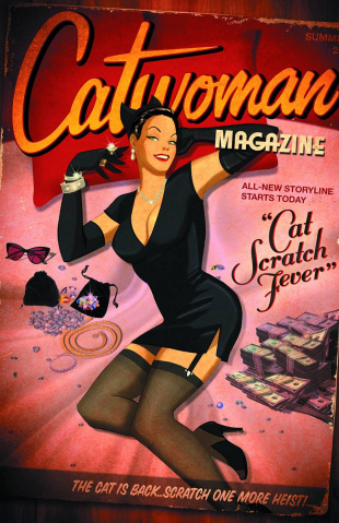 Catwoman #43 (Bombshells Cover)