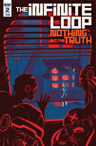 The Infinite Loop: Nothing But the Truth #2 (Charreti Cover)