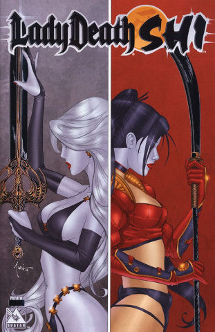 Lady Death / Shi Preview (Platinum Foil Cover)