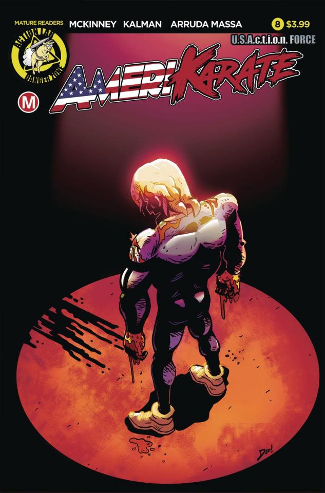 Amerikarate #8 (Roth Cover)