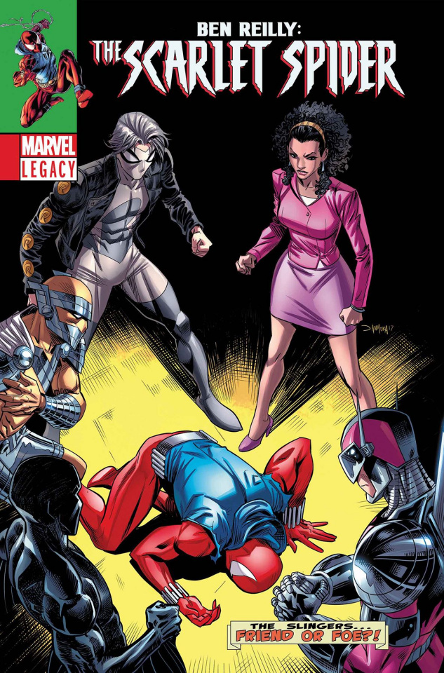 Ben Reilly: The Scarlet Spider #10 (Mora Cover)