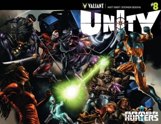 Unity #8 (Suayan Cover)