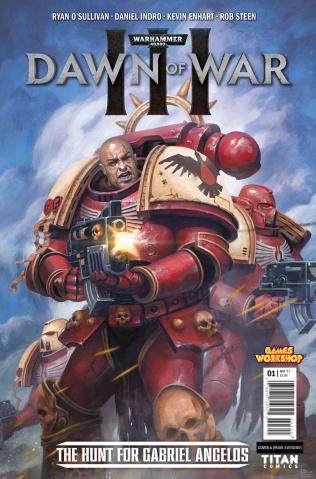 Warhammer 40,000: Dawn of War III #1 (Svendsen Cover)
