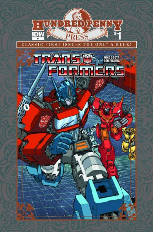 The Transformers #1 (100 Penny Press Edition)