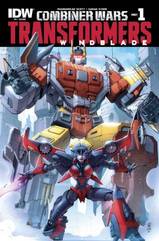 The Transformers: Windblade - Combiner Wars #1